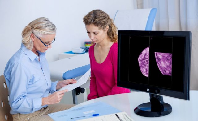 Women with breast cancer were found to experience increased risk of developing VTE.