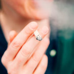 Researchers assessed the influence of smoking on AML outcomes.