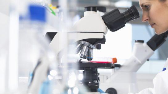 Laboratory analysis microscopy